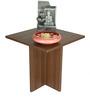 Lily End Table in Acacia Dark Matt Finish by Debono