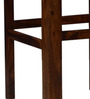 Freemont Bar Chair in Provincial Teak Finish by Woodsworth