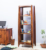 Dvina Book Shelf in Provincial Teak Finish by Woodsworth