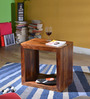 Fairmont End Table in Provincial Teak Finish by Woodsworth