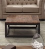 Linda Centre Civic Square Coffee Table in Black & Brown Colour by Asian Arts