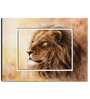 Hashtag Decor Lion Head Engineered Wood 27 x 20 Inch Framed Art Panel