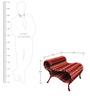 Little Bo-Peep Stool In Shades Of Crimson by Sahil Sarthak Designs
