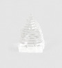 Little India Transparent Crystal Sphatik Energizing Good Luck Shree Yantra