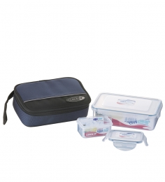 LOCK IT Lunch Pack Set With Pouch LO-509