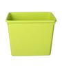 Lock&Lock Green Plastic 17 x 12 x 13 Inch Box