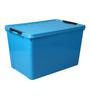 Lock&Lock Blue Plastic 24 x 16 x 15 Inch Inplus Storage Box