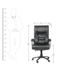 London High Back Executive Chair by The Furniture Store