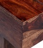 Oakville Low Height Coffee Table in Provincial Teak Finish by Woodsworth
