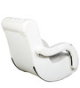 Low Seat Rocking Chair in White Colour by Parin