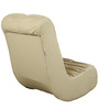Low Seating Rocking Chair without Arm Rest in Ivory Colour by Parin