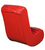 Low Seating Rocking Chair without Arm Rest in Red Colour by Parin