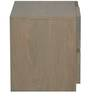 Lucio Bed Side Table in Antique Grey and Natural Finish by CasaCraft