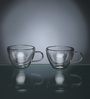 Luigi Bormioli Glass 50 ML Duos Multipurpose Cup - Set of 2