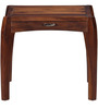 Dvina Bed Side Table in Provincial Teak Finish by Woodsworth