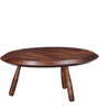 Lima Sheesham Wood Coffee Table in Provincial Teak Finish by Woodsworth