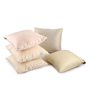 Lushomes Cream Polyester 12 x 12 Inch Cushion Covers - Set of 5