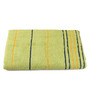 Lushomes Green Cotton 30 x 60 Bath Towel