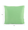 Lushomes Green Polyester 12 x 12 Inch Bright & Fluffy Cushion Insert - Set of 2