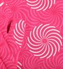 Lushomes Pink Cotton Printed Apron with Kitchen Towel & Oven Mitten