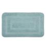 Lushomes Silver Polyester 20 x 32 Bath Mat