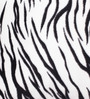Lushomes White Polyester 16 x 16 Inch Tiger Skin Printed Cushion Covers - Set of 5