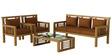 Madison Sofa Set in Natural Teak Finish by CasaTeak