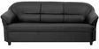 Madisson Three Seater Sofa in Black Colour by Furnitech