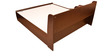 Magna King Bed in Walnut Finish by HomeTown
