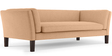 Marc Three Seater sofa in Light Camel Colour by Furny