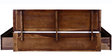 Maritsa King Bed with Storage in Provincial Teak Finish by Woodsworth