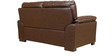 Martin Leather Two Seater Sofa in Brown Colour by HomeTown