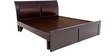 Matty King size Bed in Brown colour by Looking Good Furniture