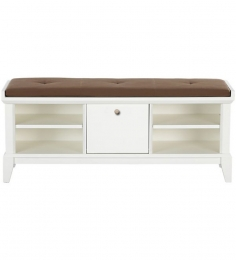 Angelica Attractive Shoe Rack With Upholstery