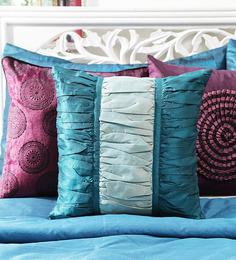 Mapa Home Care Colourblock Printed Multi Color Cushion Cover - 1441779