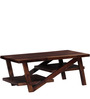 Amery Coffee Table in Provincial Teak Finish by Woodsworth