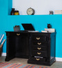 Brockway Study Table in Espresso Walnut finish by Amberville