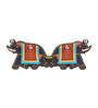 Mad(e) in India Multicolour MDF Elephant Key Holder