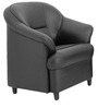 Madisson One Seater Sofa in Black Colour by Furnitech