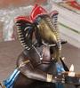 Malik Design Multicolour Metal Ganesh