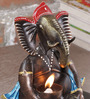 Malik Design Multicolour Metal Ganesh
