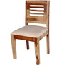 Oregon Solid Wood Dining Chair in Natural Sheesham Finish by Woodsworth