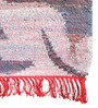 Manor Recycled Denim 63 x 91 Inch Area Rug in Multicolour by Amberville