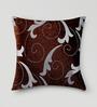 Mapa Home Care Copper Duppioni 16 x 16 Inch Filigree Cushion Cover