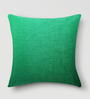 Mapa Home Care Green Duppioni 16 x 16 Inch Solid Cushion Cover