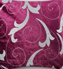 Mapa Home Care Purple Duppioni 16 x 16 Inch Filigree Cushion Cover