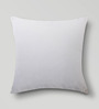 Mapa Home Care White Cotton 16 x 16 Inch Solid Cushion Cover
