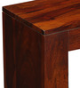 Madison Console Table in Honey Oak Finish by Woodsworth