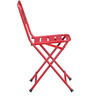 Marandoo Red Outdoor Set of Two Chair by Bohemiana