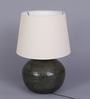 Marbella Table Lamp in Cream by CasaCraft